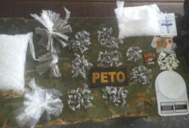 Adolescente é apreendido com droga dentro de mochila em São Marcos | Divulgação | SSP-BA