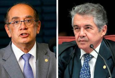 Gilmar Mendes e Marco Aurélio votam favoráveis ao recurso de Maluf | Divulgação | STF
