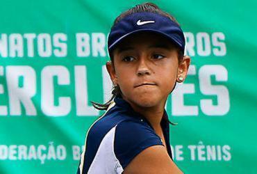 Tenista baiana de 12 anos vence etapa do Brasileiro | Thiago Parmalat | Divulgação