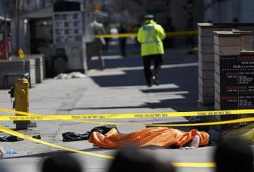 Van atropela e mata 9 pedestres em Toronto; 16 ficam feridos | Cole Burston l Getty Images l AFP