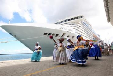 Navios de Cruzeiro trazem mais de 7,5 mil turistas à Bahia