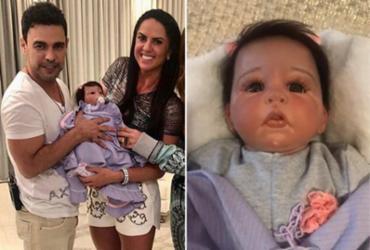 Zezé Di Camargo e Graciele Lacerda ganham boneca com suas feições | Reprodução | Instagram
