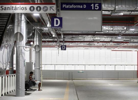 Imbróglio entre Sedur e Semob atrasa uso do terminal de Pituaçu | Raul Spinassé l Ag. A TARDE