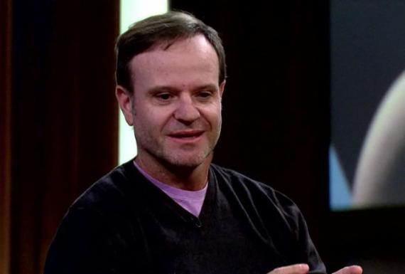 """""""Vomitei muito de raiva"""", disse Barrichello sobre ultrapassagem de Schumi   Reprodução   Rede Globo"""