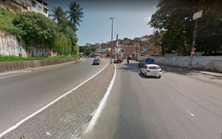 A colisão entre os veículos ocorreu por volta das 17h - Foto: Reprodução | Google Maps