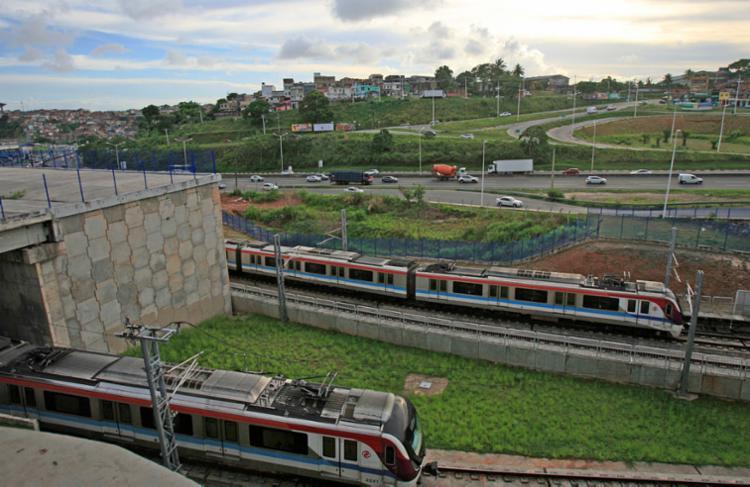 Acidente aconteceu nas proximidades da Estação Pirajá - Foto: Alessandra Lori   Ag. A TARDE