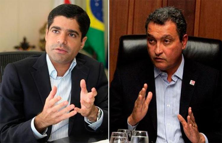 ACM Neto desistiu de concorrer as eleições para o governo com Rui Costa - Foto: Edilson Lima e Joá Souza | Ag. A TARDE