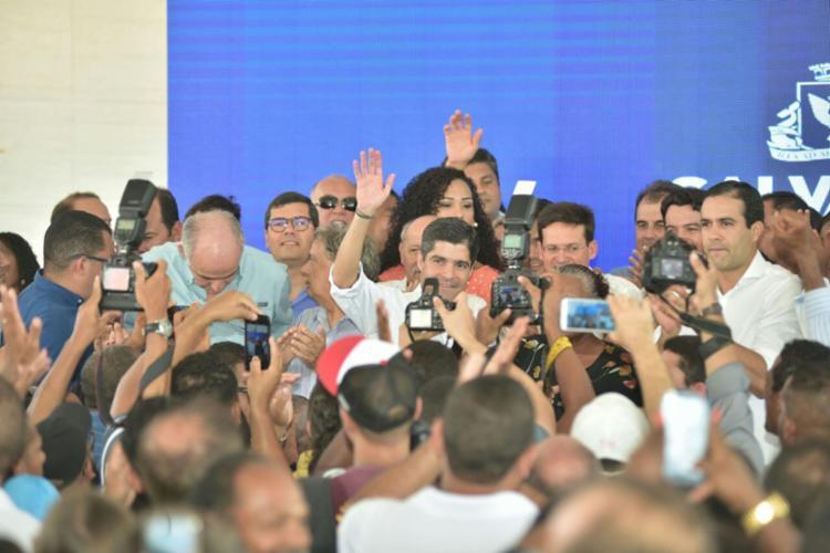 A declaração foi feita durante o lançamento da urbanização da comunidade Guerreira Zeferina - Foto: Divulgação