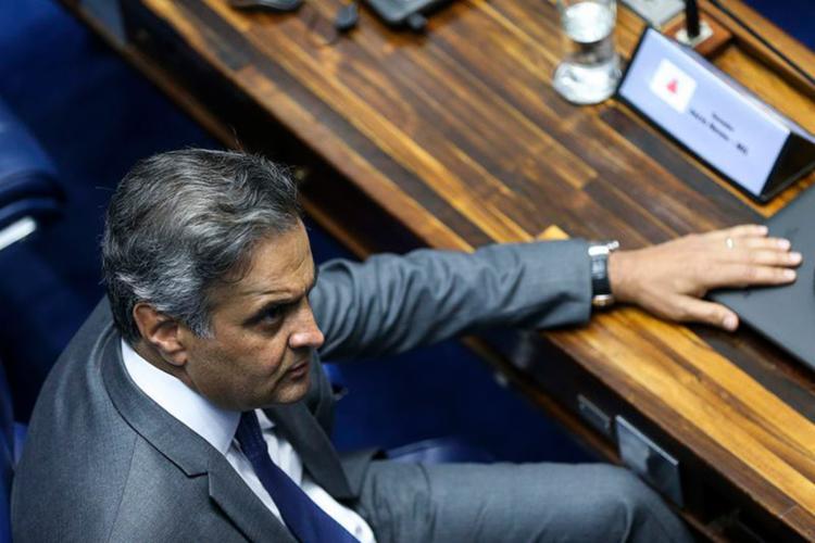 O julgamento sobre o recebimento da denúncia contra o senador Aécio Neves está marcado para esta terça-feira - Foto: Marcelo Camargo l Agência Brasil