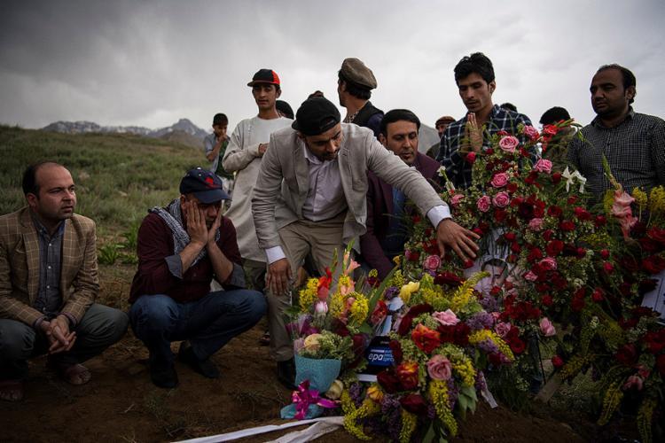 Ao todo, 37 pessoas morreram e dezenas ficaram feridas em três ataques - Foto: Andrew Quilty l Pool l AFP
