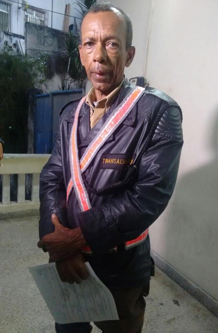 Raylson Raimundo Oliveira sofreu ferimentos na região da boca - Foto: Euzani Daltro l Ag. A TARDE