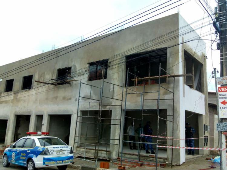 Operário caiu de imóvel de dois andares - Foto: Sintracom-BA