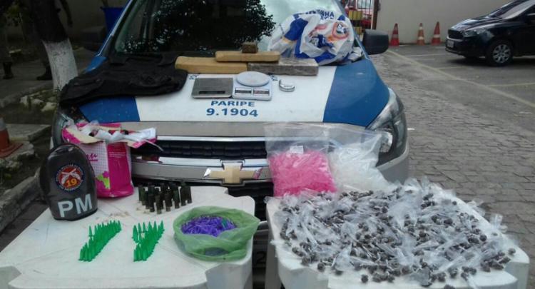 Material foi apreendido com o suspeito - Foto: Divulgação | SSP BA