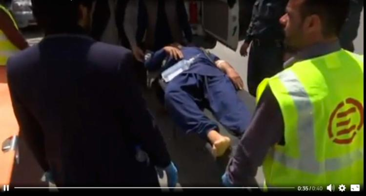 Diversas pessoas ficaram feridas nos ataques desta segunda - Foto: Reprodução