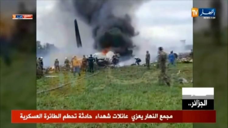 O acidente aéreo é mais mortífero da história desse país do norte da África - Foto: Marina Passos   ENNAHAR TV   AFP