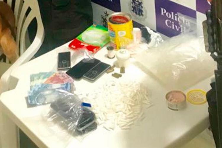 Material foi levado para a Delegacia Territorial de Conceição do Jacuípe - Foto: Divulgação | Polícia Civil