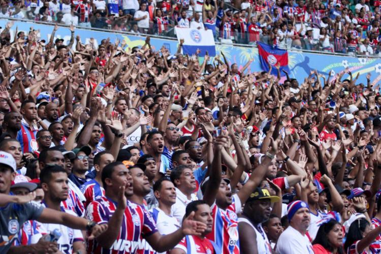 Após 20 dias, o Tricolor vai voltar a jogar com o apoio do seu torcedor. - Foto: Marcelo Malaquias | EC Bahia