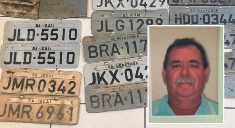 Chapista foi localizado em seu ferro velho, onde, de acordo com a Polícia Civil, adulterava os carros roubados - Foto: Divulgação | Polícia Civil