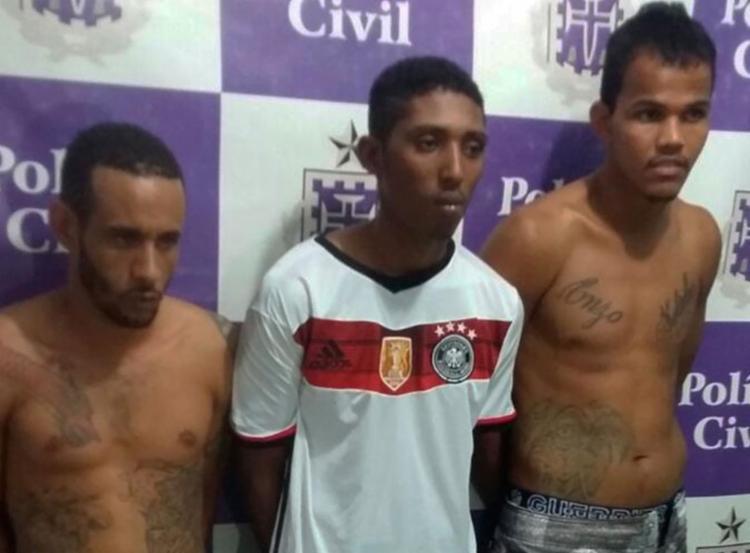 Homens são suspeitos de integrar uma facção criminosa na cidade - Foto: Reprodução | Site Farol da Cidade