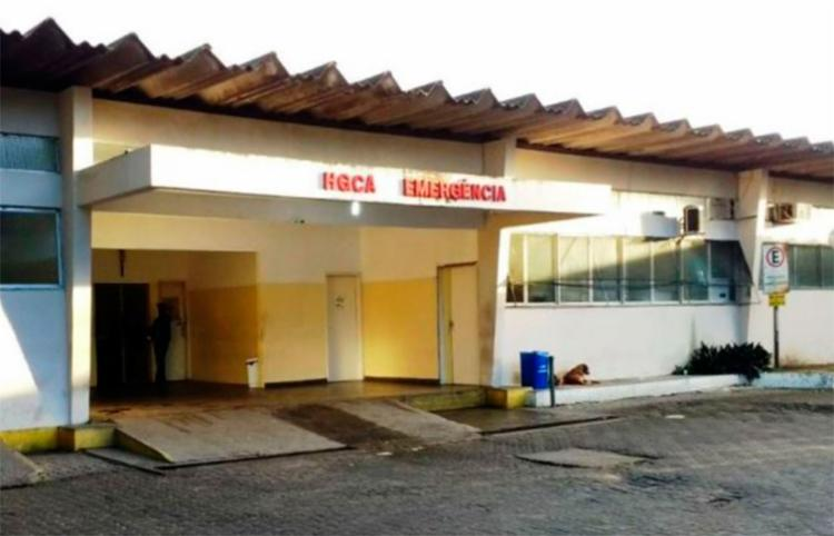 Vítima foi socorrida para o Hospital Clériston Andrade - Foto: Paulo José | Reprodução | Acorda Cidade