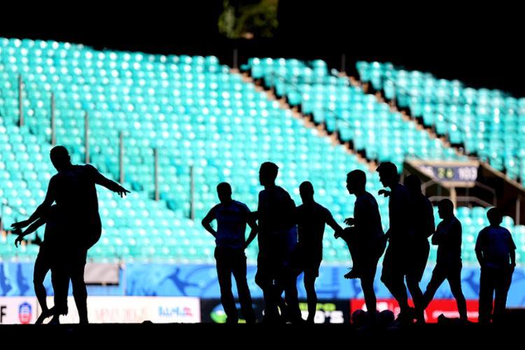 Esquadrão tem aproveitamento de 88% jogando na Arena neste ano - Foto: Felipe Oliveira l EC Bahia