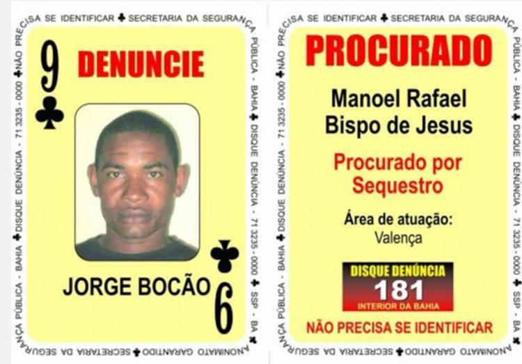 le é suspeito de ser líder de uma quadrilha responsável por sequestros na região do Baixo Sul da Bahia - Foto: Divulgação | SSP