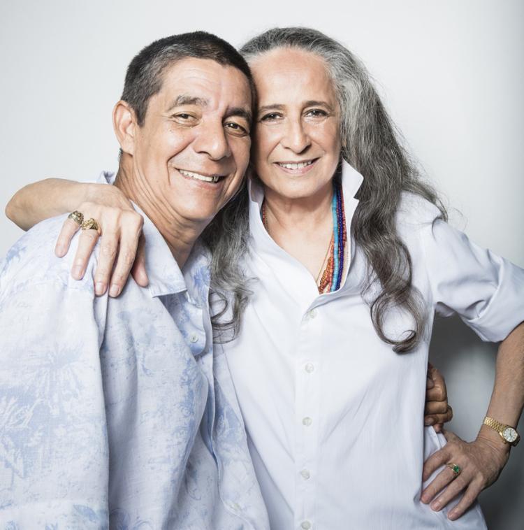 Bethânia e Zeca Pagodinho celebram a amizade em um encontro inédito, hoje, na Concha Acústica - Foto: Daryan Dornelles | Divulgação