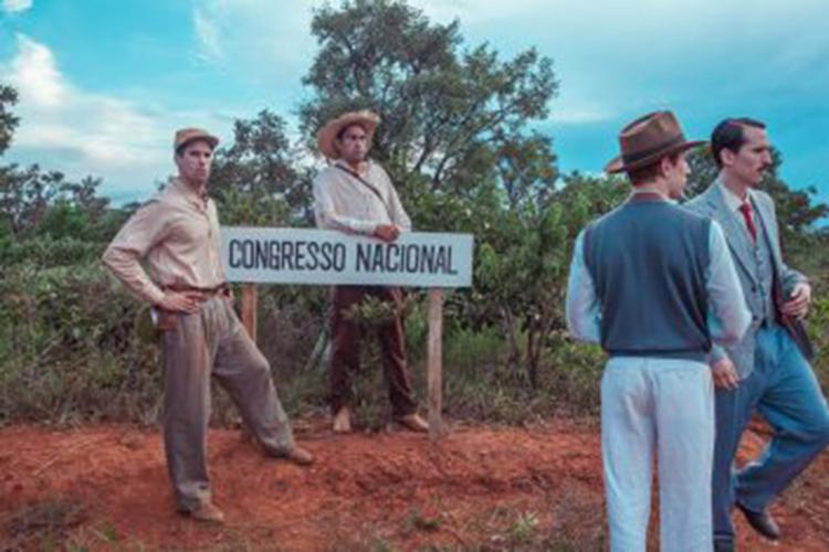 gação Os quatro episódios mostram desde a idealização até a inauguração da nova capital federal - Foto: Divulgação