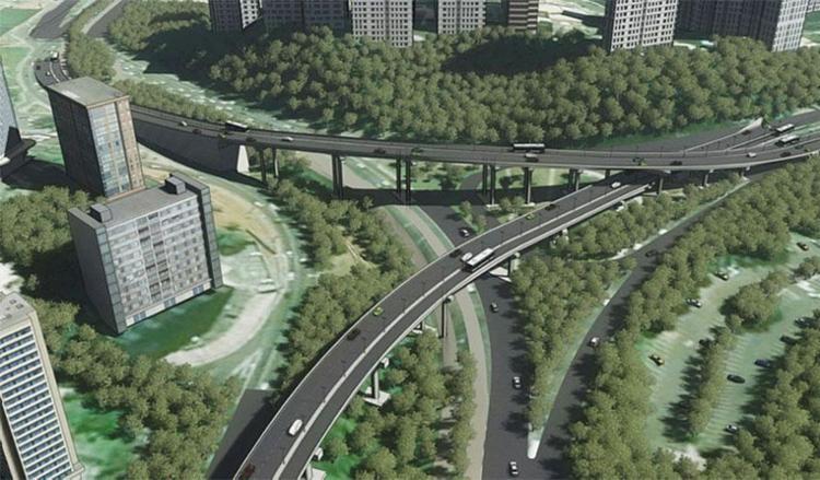 Projeção do BRT em Salvador - Foto: Divulgação | Secom Salvador