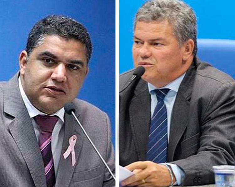 Oziel dos Santos Araújo (PSDB) e José Paulo Bezerra (PMDB) foram denunciados por crimes de peculato e lavagem de dinheiro - Foto: Reprodução | Facebook