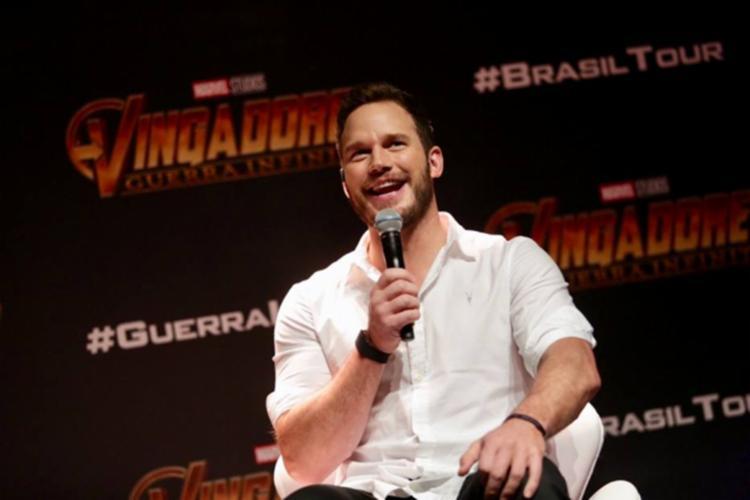 Pratt respondeu perguntas do público e falou sobre sua participação no novo filme dos Vingadores - Foto: Divulgação | Marvel