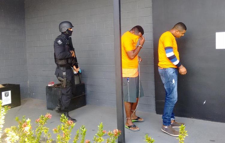 Cleber foi preso em São Paulo pela polícia baiana - Foto: Euzeni Daltro | Ag. A TARDE