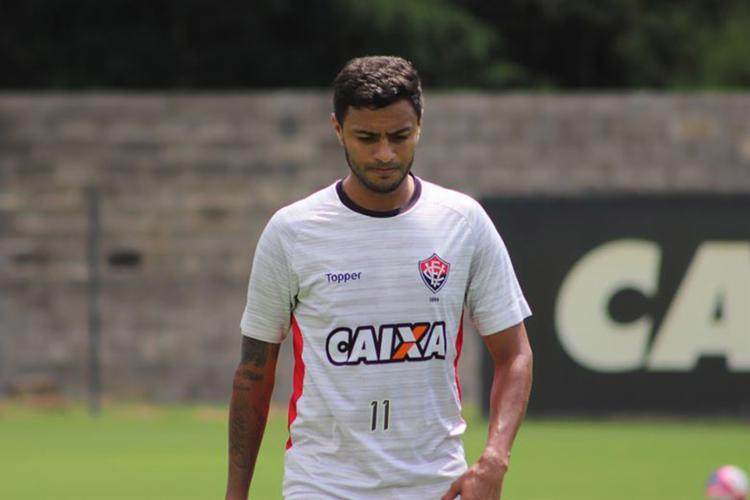 Cleiton Xavier esteve em campo apenas por 22 minutos em 2018 - Foto: Maurícia da Matta l EC Vitória