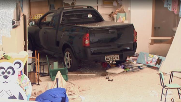 O motorista de 53 anos estava embriagado e foi preso em flagrante - Foto: Reprodução | NSC TV