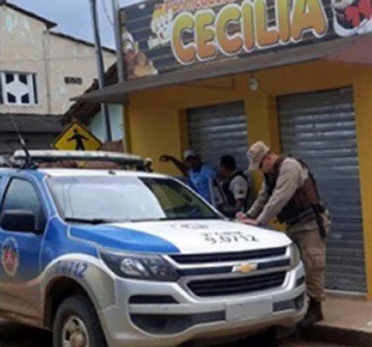 Polícia realiza busca para localizar suspeito - Foto: Reprodução | Radar 64