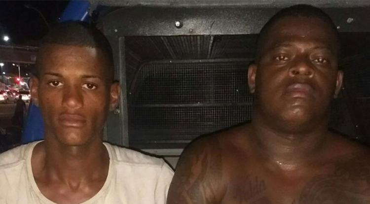 Cristiano (sem camisa) já responde pelos crimes de homicídio e tráfico - Foto: Divulgação | SSP