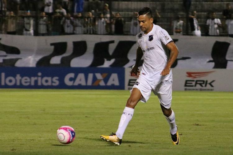 O jogador está regularizado e já pode estrear com a camisa do Leão no Brasileirão - Foto: Divulgação l ABC FC