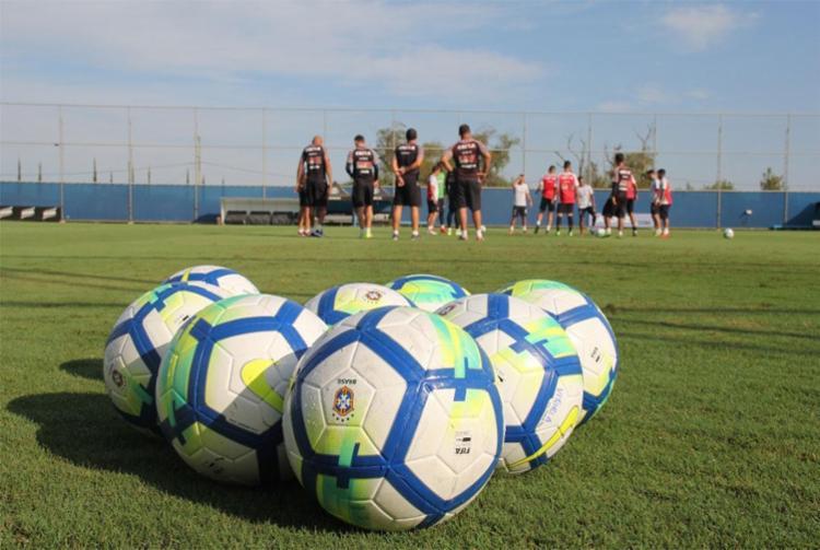 Grupo treinou nesta quinta, um dia após derrota contra o Internacional - Foto: André Hiltner | Divulgação | EC Vitória