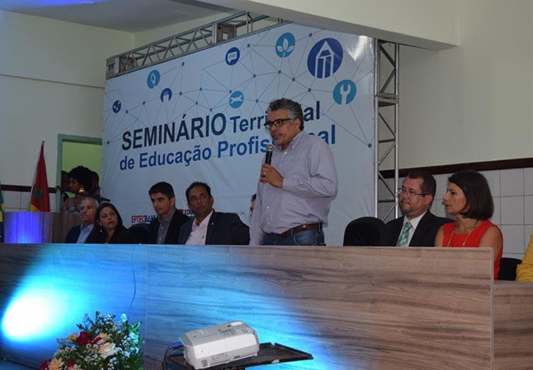 O evento busca dialogar com o setor produtivo o planejamento da oferta de Educação Profissional e Tecnológica regular - Foto: Suâmi Dias/GOVBA