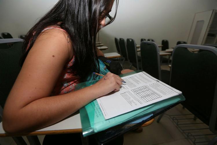 Este ano, pela primeira vez o pedido de isenção da taxa será feito antes do período de inscrição - Foto: Joá Souza | Ag. A TARDE