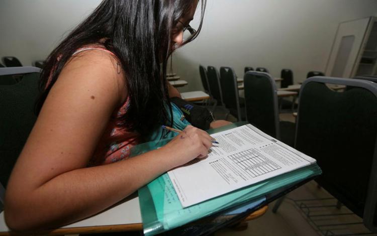 Candidatos têm até 15 de abril para solicitar isenção - Foto: Joá Souza | Ag. A TARDE