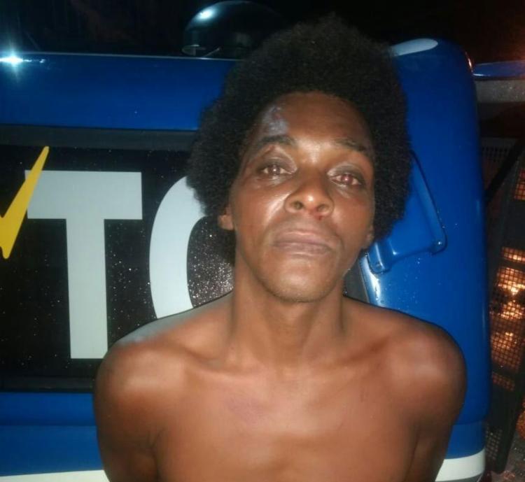 Homem foi preso em flagrante dentro de imóvel - Foto: Divulgação | SSP