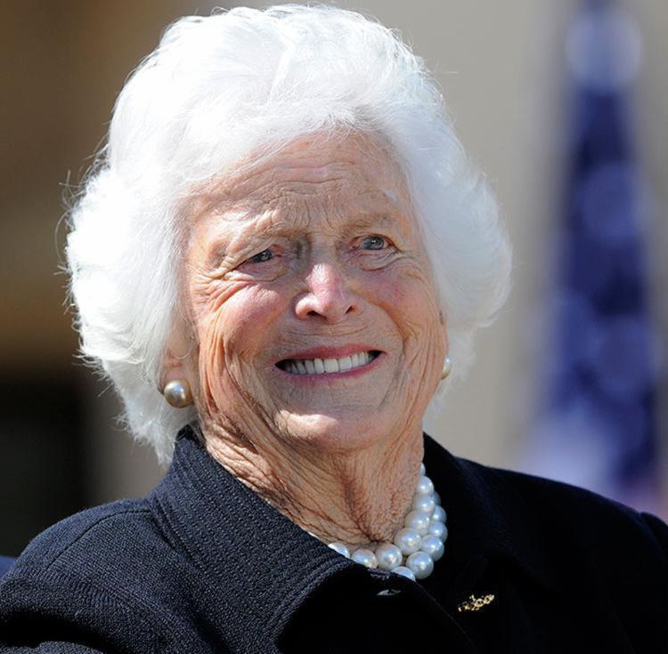Barbara foi a segunda primeira-dama dos EUA que também era mãe de um ex-presidente - Foto: Jewel Samad   AFP