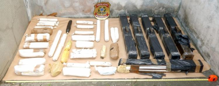 Explosivos foram apreendidos pela Polícia Federal - Foto: Polícia Federal | Divulgação