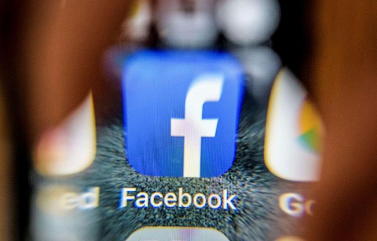 Facebook reconhece que usuários de 10 países foram afetados por problema - Foto: Mladen Antonov | AFP