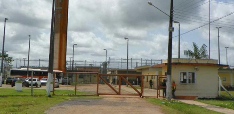 Fachada do Centro de Recuperação Penitenciário do Pará III, na região metropolitana de Belém - Foto: Reprodução l Susipe