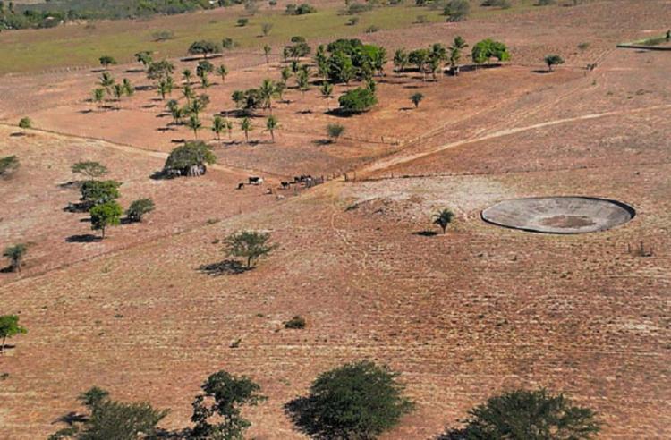 Feira de Santana está em situação crítica há oito anos, sob decreto de emergência por seca - Foto: Jorge Magalhães   Secom Feira Santana