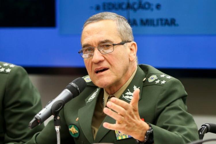 General Eduardo Villas Bôas foi alvo de críticas após comentários no Twitter - Foto: Marcelo Camargo   EBC   FotosPúblicas