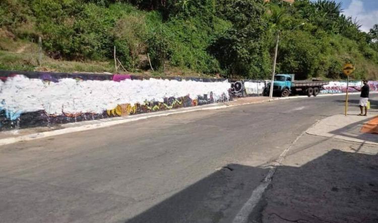 Grafite foi feito por mais de 150 artistas reconhecidos internacionalmente - Foto: Divulgação