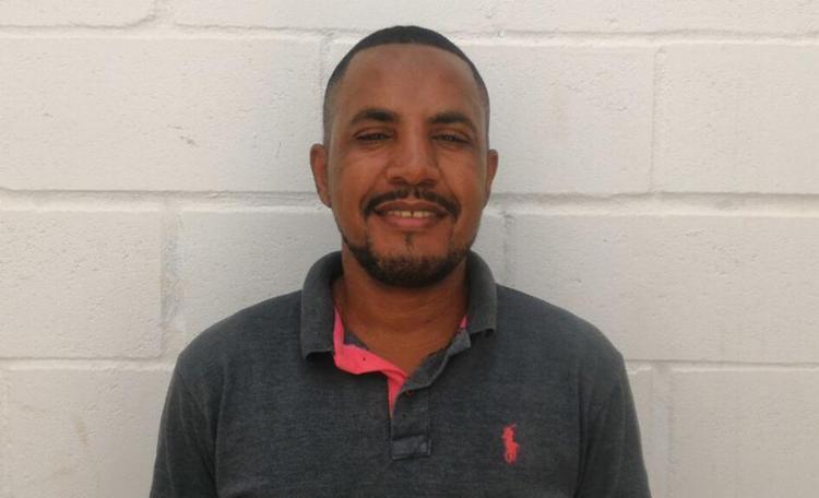 Cláudio Germano foi preso em flagrante por porte ilegal de armas - Foto: Divulgação   SSP